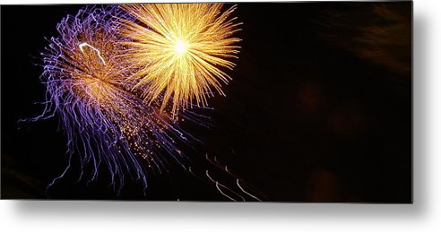 Color Metal Print featuring the photograph Viva La Celebration by John Julio