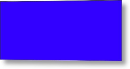 Abstract Metal Print featuring the digital art C.1.50-0-255.7x3 by Gareth Lewis
