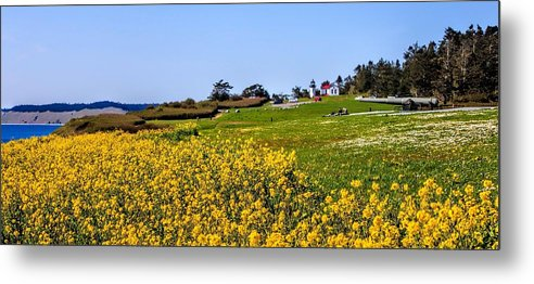 Fort Casey Metal Print featuring the photograph Fort Casey Spring by Rick Lawler