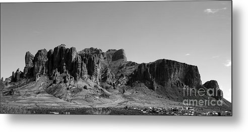 Superstition Metal Print featuring the photograph Superstition by Kenneth Hess