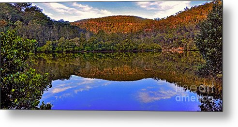 Photography Metal Print featuring the photograph Valley Of Peace by Kaye Menner
