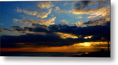 Sunset Metal Print featuring the photograph Cloud Party by Kevin Sherf