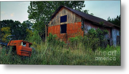 Virginia Metal Print featuring the photograph Lawn Gone by Pete Hellmann