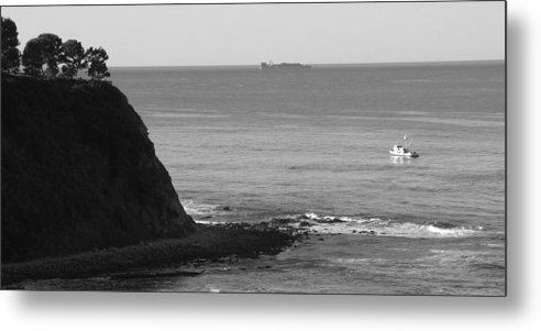 Ocean Metal Print featuring the photograph Adrift by Shari Chavira