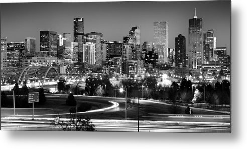 Denver Metal Print featuring the photograph Mile High Skyline by Kevin Munro
