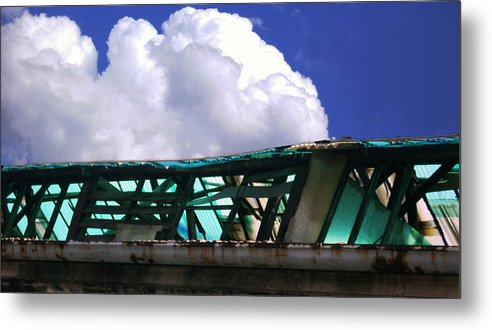 Cloud Metal Print featuring the photograph Sky10 by Mikael Gambitt