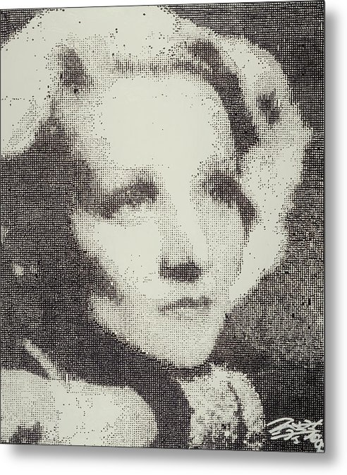 Nostalgia Metal Print featuring the painting Marlene by Randy Ford
