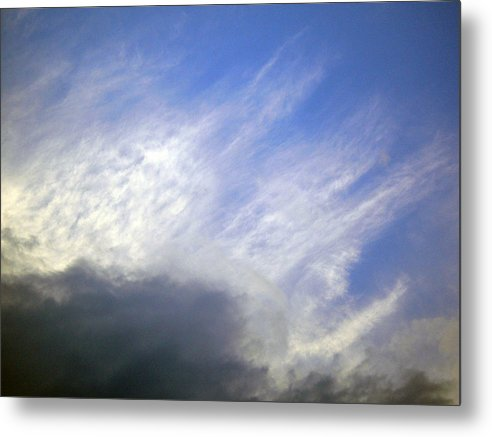 Cloud Metal Print featuring the photograph Sky6 by Mikael Gambitt