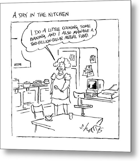 A Day In The Kitchen by Sidney Harris