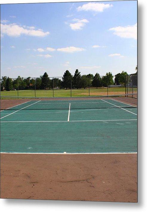 Tennis Court at Park   by Sean M