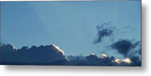 Cloud Horizon Metal Print featuring the photograph A little bit of Scottish sky by Baato