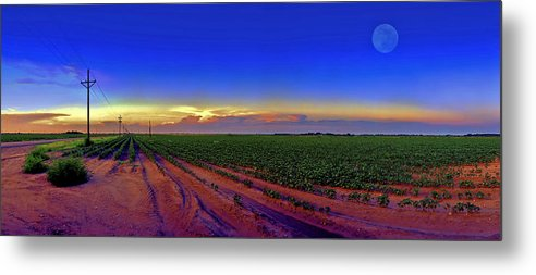 West Texas Metal Print featuring the photograph Serenity by Robert Hudnall