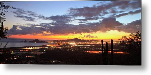 Tranquility Metal Print featuring the photograph View Of Cabo San Lucas At Sunset by Stuart Westmorland / Design Pics