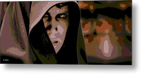 Anakin Skywalker Metal Print featuring the photograph Darkness by George Pedro