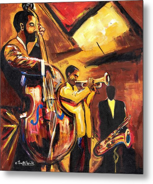 Everett Spruill Metal Print featuring the painting Birth Of Cool by Everett Spruill