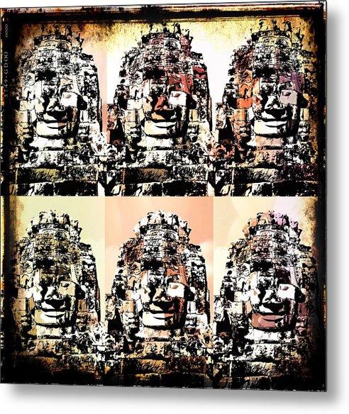 Angkor Metal Print featuring the photograph Angkor Warhol #1.2 by Brad Spencer