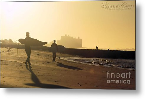 Rockaway Metal Print featuring the photograph Surf After Sandy by Gerardo Checo