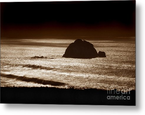 Big Sur Metal Print featuring the photograph Drama On Big Sur by Michael Ziegler
