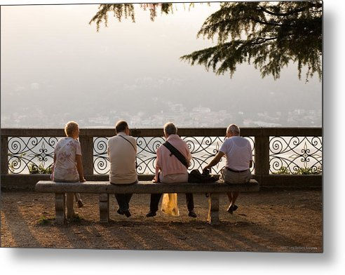 Italy Metal Print featuring the photograph Relax by Luigi Barbano BARBANO LLC