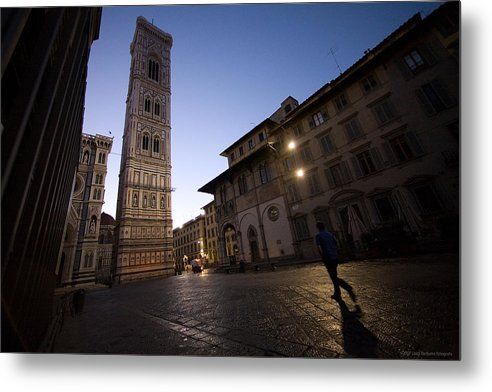 Italy Metal Print featuring the photograph Sunrise In Florence 3 by Luigi Barbano BARBANO LLC
