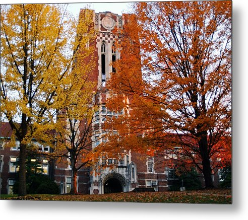 Tennessee Metal Print featuring the photograph Tennessee Ayers Hall by University of Tennessee Athletics
