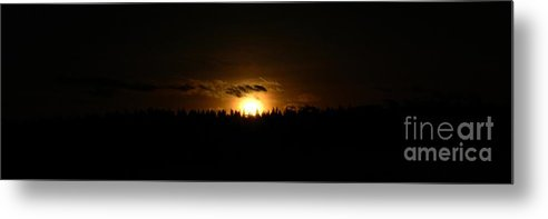 Sunset Metal Print featuring the photograph Sunsets On The Douglas Lake Range by Phil Dionne