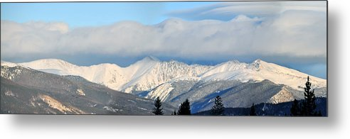 Mountains Metal Print featuring the photograph Arapahoe Basin by Tobin Truslow