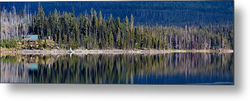Oregon Metal Print featuring the photograph Elk Lake Oregon by Twenty Two North Photography