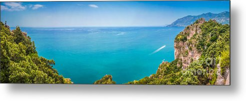 Amalfi Metal Print featuring the photograph Coast To Coast by JR Photography