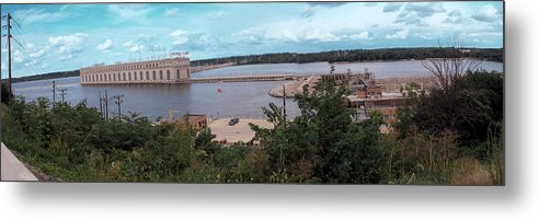 Dam Metal Print featuring the photograph Lock And Dam 19 by Jame Hayes