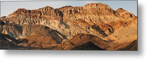 Mountains Metal Print featuring the photograph Artist Palette Magic by Bryan Shane