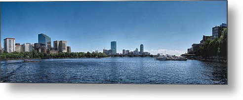 Boston Metal Print featuring the photograph Boston Skyline II by C H Apperson