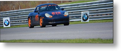 Porsche Metal Print featuring the photograph Hairy Dog Grrrage 819 Spbox by Mike Martin