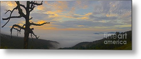 Sunrise Metal Print featuring the photograph Shenandoah Sunrise - 4342 by Chuck Smith