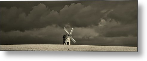 Windmill Metal Print featuring the photograph English Windmill by Pixabay