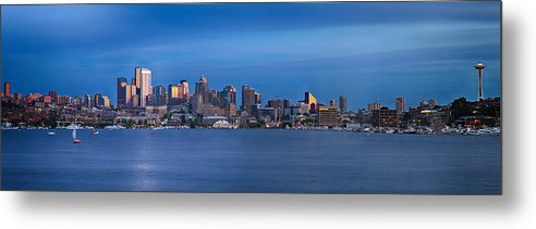 Seattle Metal Print featuring the photograph Seattle by Paul Fell
