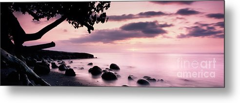 Bali Metal Print featuring the photograph Lovina Sunset - Bali by Rod McLean