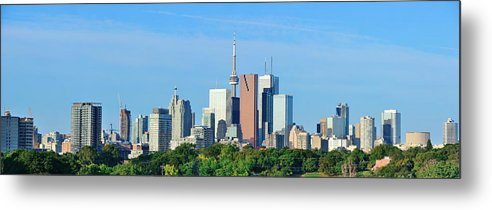 Toronto Metal Print featuring the photograph Toronto by Songquan Deng