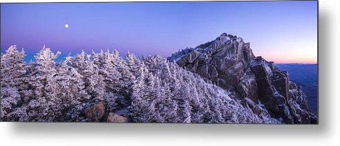 Mount Liberty Metal Print featuring the photograph Mount Liberty Blue Hour Panorama by Chris Whiton