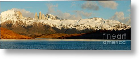 Patagonia Metal Print featuring the photograph Patagonia Panorama by Mircea Costina Photography