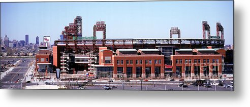 Citizens Bank Park Metal Print featuring the photograph Montreal Expos V Philadelphia Phillies by Jerry Driendl