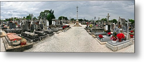 France Metal Print featuring the photograph French Cemetery by Dave Mills