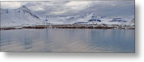 Arctic Metal Print featuring the photograph 79 Degrees North M by Terence Davis