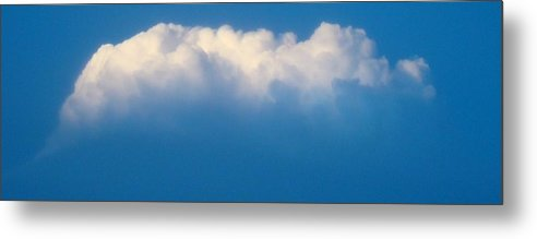 Cloud Metal Print featuring the photograph Glowing Cloud One by Ana Villaronga