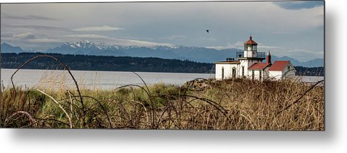 Lighthouse Metal Print featuring the photograph West Point Lighthouse by Travis Boyd