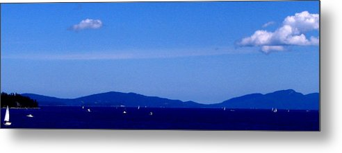 Ocean Metal Print featuring the photograph Great Day To Boat by Rheo