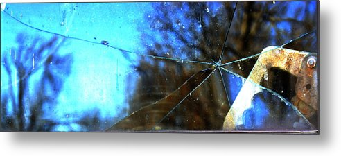 Metal Print featuring the photograph Cracked But Not Shattered by Ashleigh Cantrell
