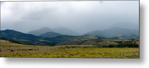 Colorado Metal Print featuring the photograph Colorado Foothills by Daniel Dodd