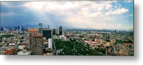 Mexico Metal Print featuring the photograph High Altitude Mexico by Scott Perkins