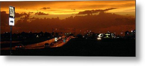 Landscape Metal Print featuring the photograph Missouri 291 by Steve Karol
